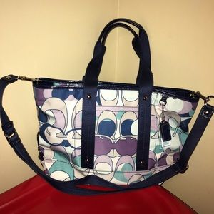 Coach Tote with Strap for Crossbody